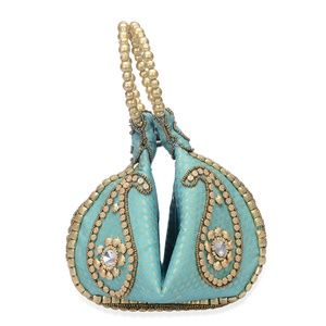 Handbags - Fortune Cookie Bag Paisley Pattern Beaded